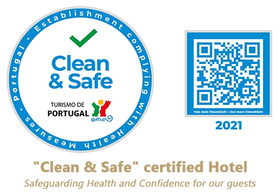 """Clean & Safe""  certified Hotel"