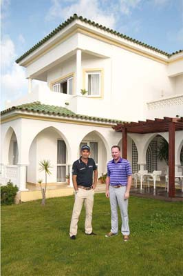 Owner Mr. Kevin Nedoluha and Golfpro Mr. Markus Brier